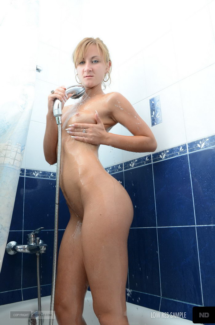 Hot babe in shower getting fucked 6