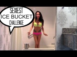 Channon Rose aka Randi Wright does the ALS Ice Bucket Challenge